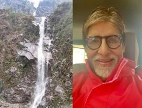 Amitabh Bachchan shocked to know about waterfall named after him in Sikkim