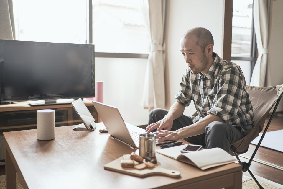 Microsoft is bringing Headspace to its Viva Insights app withint Teams to make working from home less stressful. (Image: Getty)