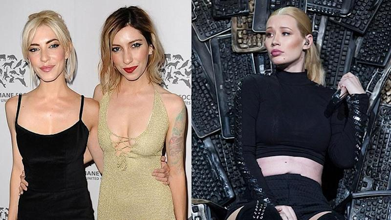 The Veronicas and Iggy Azalea. Source: Getty Images.
