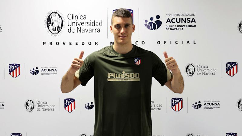 New Atletico signing Grbic excited to develop under Oblak