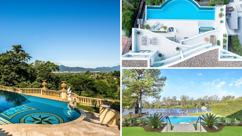 Here are the 5 most insane properties on the market right now. Source: Domain/Realestate.com.au