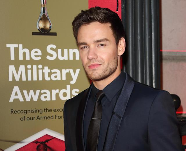 Liam Payne attends The Sun Military Awards 2020 at the Banqueting House in London. (Keith Mayhew / Echoes Wire/ Barcroft Media.