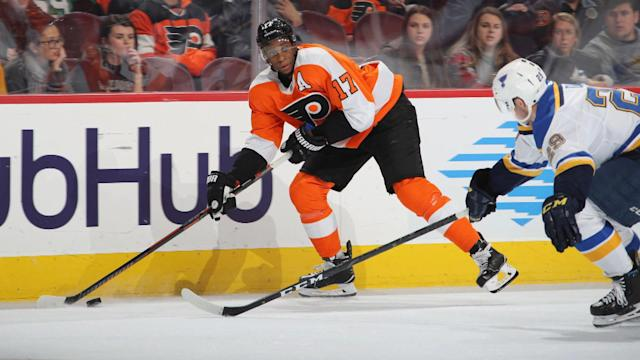"Would teams be wise to pursue <a class=""link rapid-noclick-resp"" href=""/nhl/players/4328/"" data-ylk=""slk:Wayne Simmonds"">Wayne Simmonds</a>?"