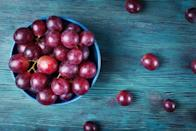 "<p>Grapes are one of <a href=""https://www.thedailymeal.com/healthy-eating/foods-neurologists-eat-brain-health?referrer=yahoo&category=beauty_food&include_utm=1&utm_medium=referral&utm_source=yahoo&utm_campaign=feed"" rel=""nofollow noopener"" target=""_blank"" data-ylk=""slk:the best foods for your brain"" class=""link rapid-noclick-resp"">the best foods for your brain</a>, but please, don't put them in the microwave. Researchers found that microwaved grapes produce plasma, creating a brief, fiery explosion. How? The water in the fruit traps radiation wavelengths, which bounce around and concentrate where two grapes meet, creating a strong electromagnetic field and eventually, a spark. For context, lightning, neon signs, stars and rocket exhaust are all plasmas.</p>"