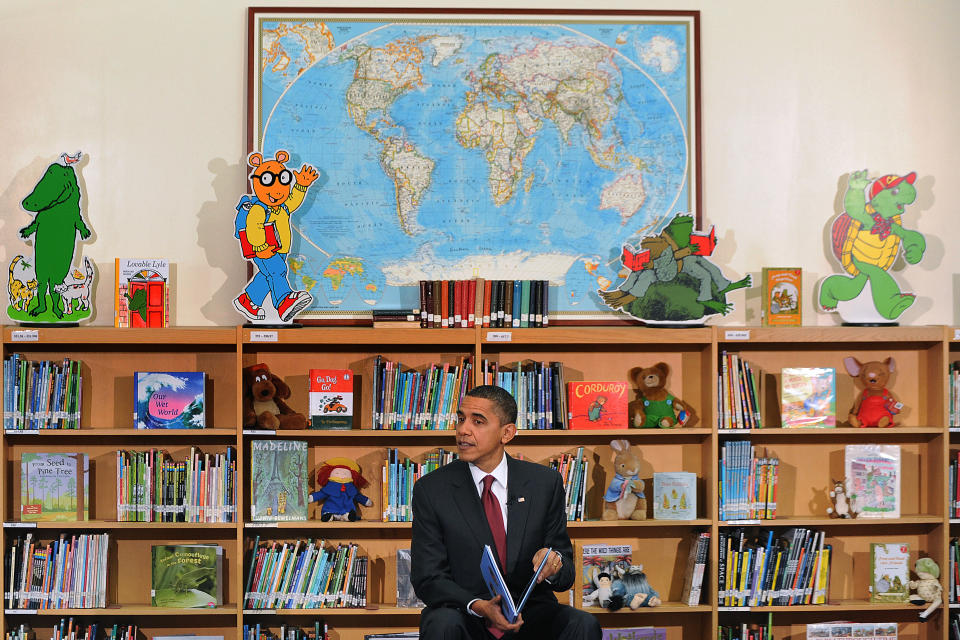 President Barack Obama is sharing his annual favorite books list. (Photo: Olivier Douliery/ ABACAUSA.com)