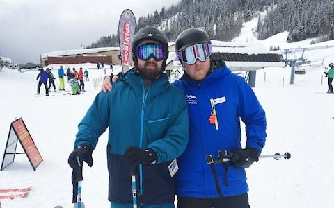 dan and instructor
