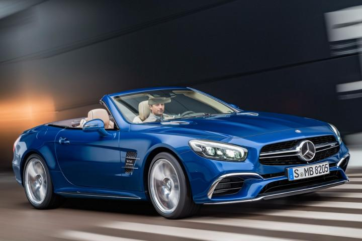 Mercedes benz sl class gets a much needed facelift for How much are mercedes benz