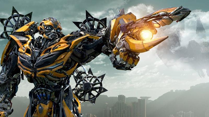 Bumblebee, set to fly solo in 2018 (credit: Paramount/Hasbro)
