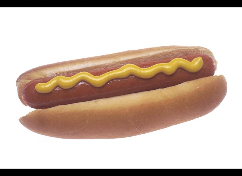 "No one said hot dogs promote longevity, but it's not like eating a frankfurter is as dangerous as someone sticking a gun in your face--unless your name is Olivia Chaines and you're eating it Costco. The then-31-year-old had <a href=""http://www.clickorlando.com/news/3274884/detail.html"" target=""_hplink"">swallowed a piece of a Hebrew National brand hotdog</a> in the shopping aisle of a Costco in May 2004 before she realized that it contained a piece of metal. X-rays revealed that the hot dog had contained a live bullet."