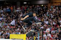 """<p>Considered a """"true street"""" skater, Sablone is one of the most respected in the sport. According to her <a href=""""http://usaskateboarding.com/blogs/2020-usa-skateboarding-national-team/alexis-sablone-womens-street"""" class=""""link rapid-noclick-resp"""" rel=""""nofollow noopener"""" target=""""_blank"""" data-ylk=""""slk:USA Skateboarding profile"""">USA Skateboarding profile</a>, she is currently the only pro female on several all-male teams including Converse and WKND skateboards.</p> <p><strong>Olympic Team:</strong> Women's Skateboard Street</p> <p><strong>Age:</strong> 34</p> <p><strong>Hometown:</strong> Old Saybrook, CT</p> <p><strong>Instagram:</strong> <a href=""""http://instagram.com/suminaynay"""" class=""""link rapid-noclick-resp"""" rel=""""nofollow noopener"""" target=""""_blank"""" data-ylk=""""slk:@suminaynay"""">@suminaynay</a></p>"""