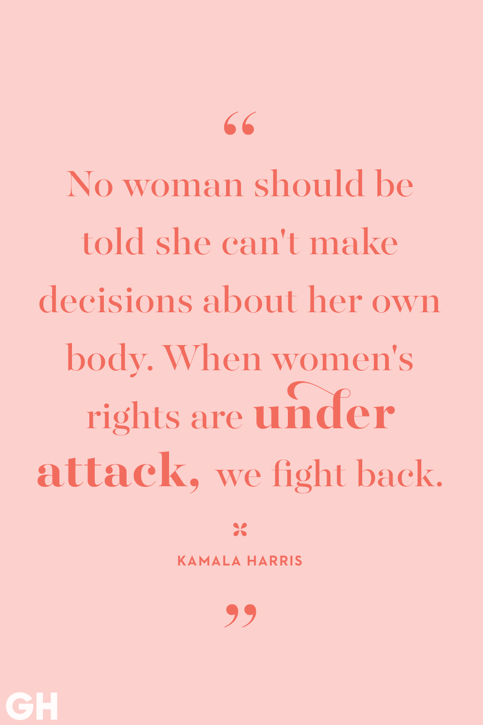 <p>No woman should be told she can't make decisions about her own body. When women's rights are under attack, we fight back.</p>
