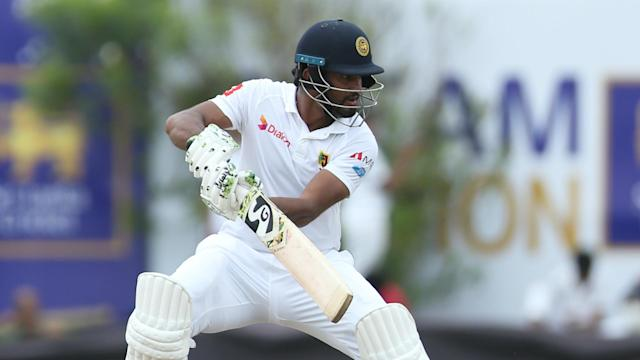 Sri Lanka had victory in sight by stumps on day four as their record-setting openers starred in the first Test against New Zealand.