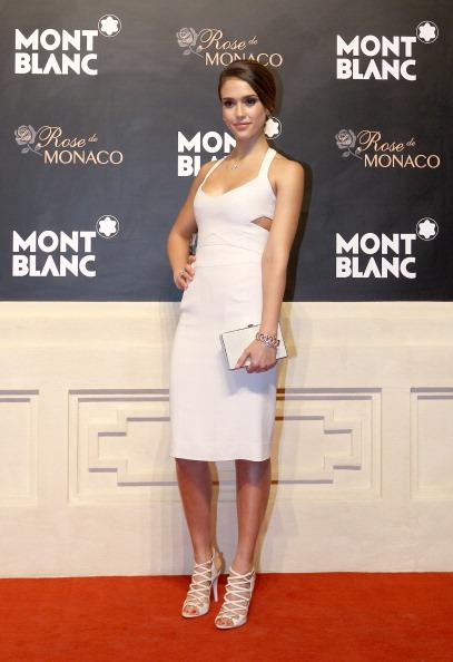 "<div class=""caption-credit""> Photo by: Getty Images</div><div class=""caption-title"">In all white</div>The only Latina in US Magazine's <i>12 Best Dressed Stars of 2012</i>, Alba wore a sharp, all-white ensemble to attend the Mont Blanc Gala in Beijing earlier this year. The actress' choice of this Narciso Rodriguez dress became instrumental in the magazine's selection of the stylish actress."