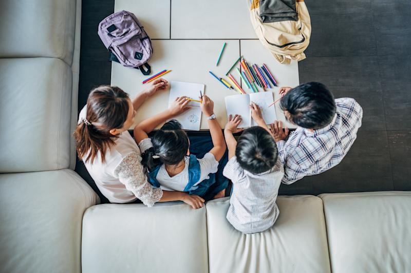 Teachers are offering their support for parents learning to homeschool children during coronavirus. (Photo: Getty Images)