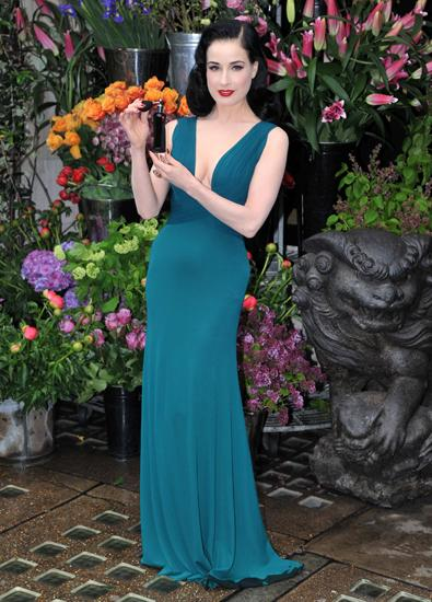 Dita Von Teese Launches Her Own Self-Titled Fragrance And We Love It!