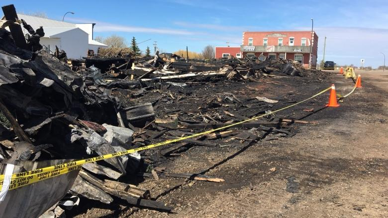 Fire in Heisler's historic downtown leads to emotional loss for business owners