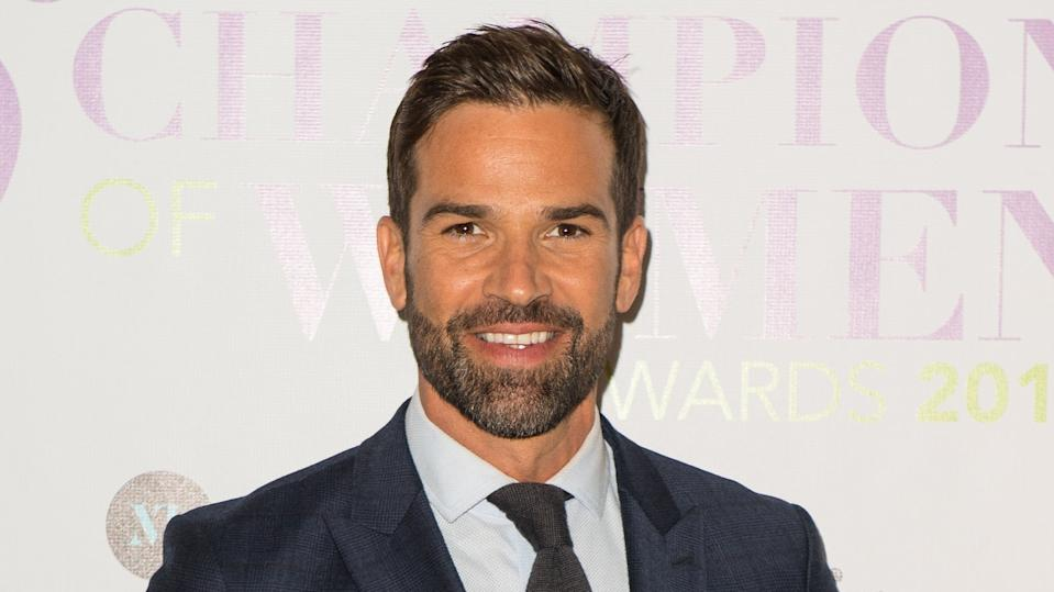 Gethin Jones arriving at the Champion of Women Awards (PA)