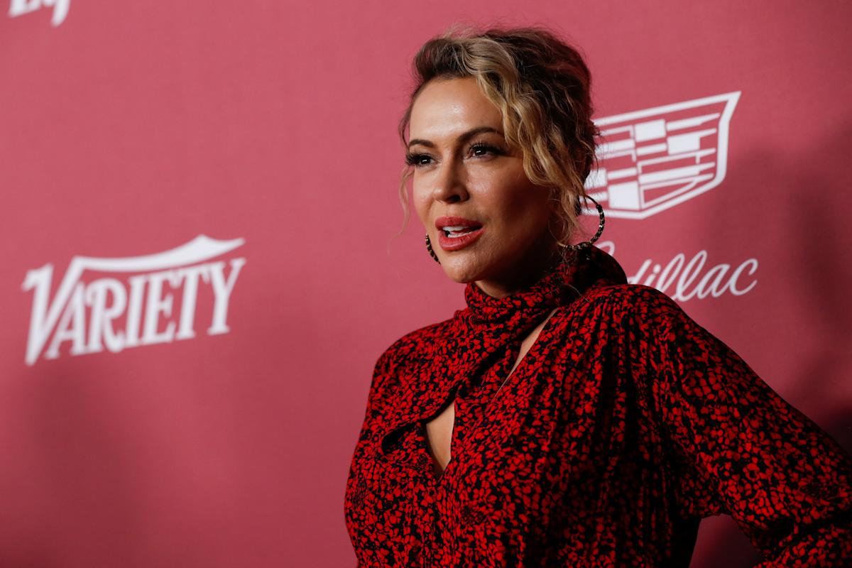 Alyssa Milano arrested during a voting rights protest at the White House