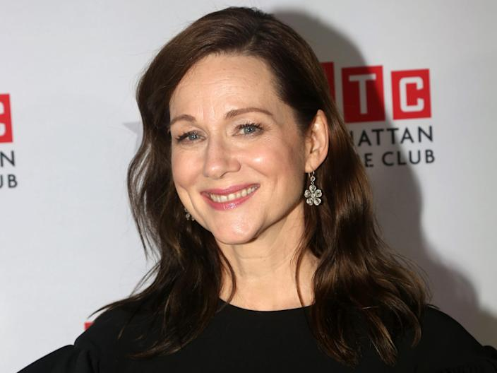 Laura Linney New York red carpet January 2020 Getty Images