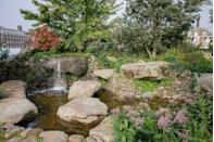<p><strong>SANCTUARY GARDEN | Award: GOLD</strong></p><p>Designed by Sarah Eberle, this garden – inspired by the landscape of Dartmoor where Sarah grew up – represents a spiritual oasis within an urban setting, a place of escape to re-engage with nature and to strengthen mental health and wellbeing. </p>