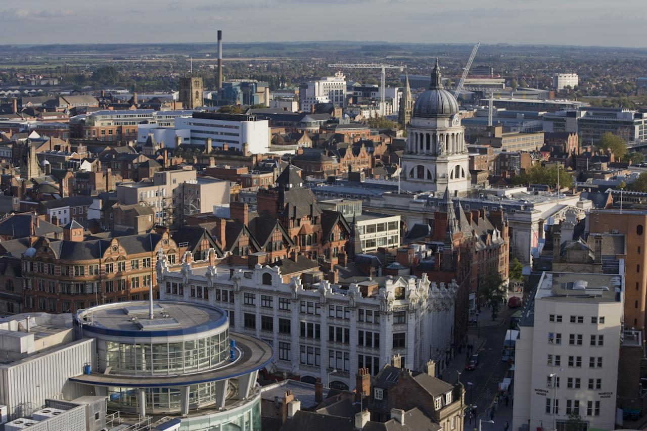 <p>7. Nottingham – £66.13bn. The most valuable postcode in the city is NG9, which includes Beeston and Stapleford. Prices have risen 3.69% in the past year. (Arcaid/UIG via Getty Images) </p>