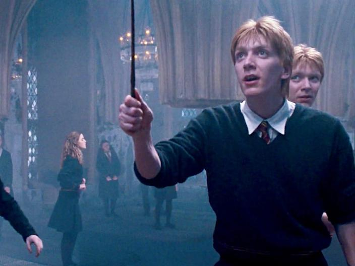 fred george weasley harry potter