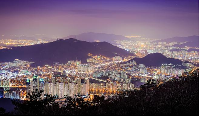 Leaders of the 11 nations met in the South Korean coastal city of Busan. Photo: Alamy Stock Photo