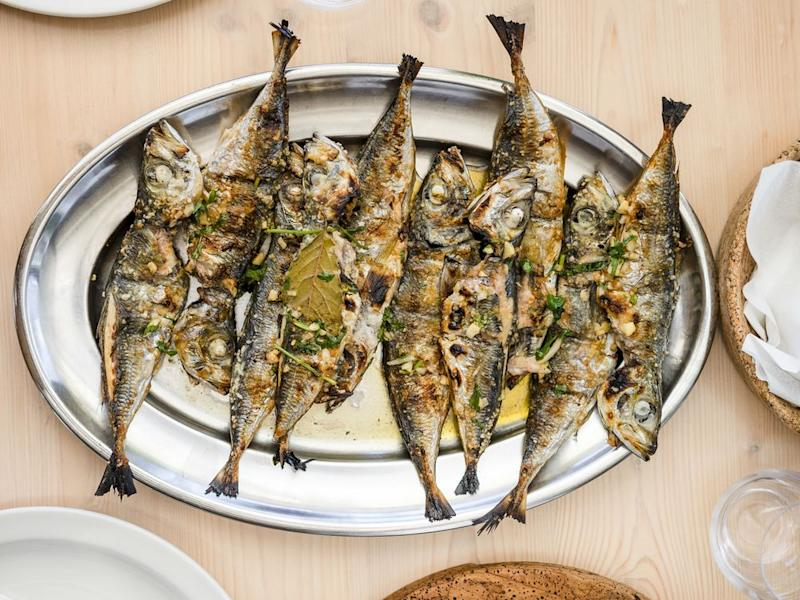 Both canned and grilled sardines are to be found on most menus in Lisbon and Porto. | Sally Spaulding/Windstar Cruises