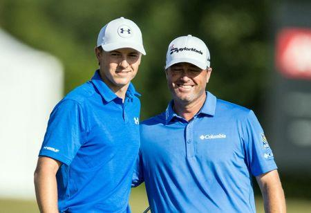 Spieth and Palmer tied for lead at Zurich Classic