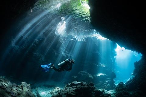 Diving in The Solomons - Credit: getty