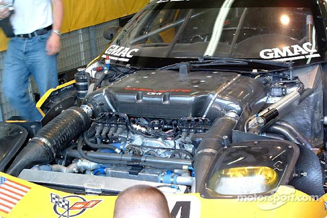 "2004: Corvette Racing Corvette C5-R powerplant <span class=""copyright"">Patrick Martinoli</span>"