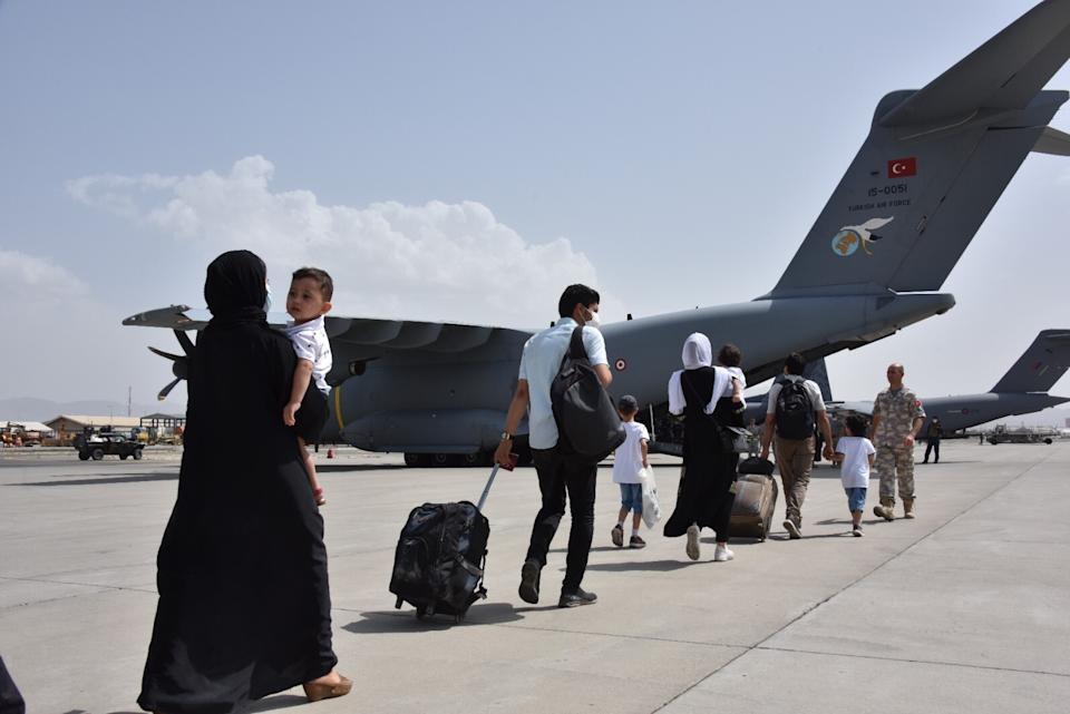 KABUL, AFGHANISTAN - AUGUST 18: (----EDITORIAL USE ONLY - MANDATORY CREDIT -