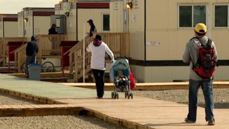 Saddlebrook, the temporary neighbourhood built north of High River for flooded-out residents, is set to close at the end of the summer and the province has purchased an apartment block to move displaced families to after that.