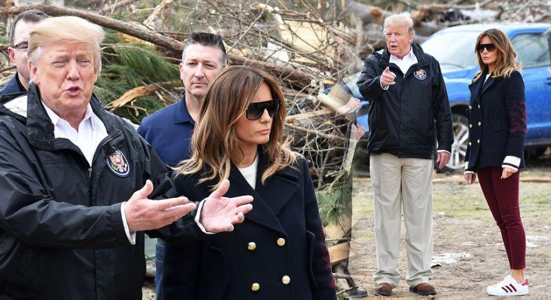 """The """"fake Melania"""" theory was revived last month when the couple were spotted together in Georgia, US. [Photo: Getty]"""