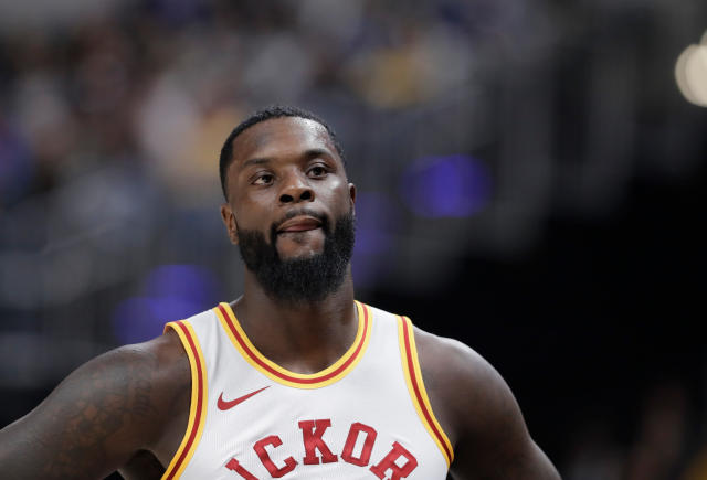 "<a class=""link rapid-noclick-resp"" href=""/nba/players/4771/"" data-ylk=""slk:Lance Stephenson"">Lance Stephenson</a> played all 82 games for the <a class=""link rapid-noclick-resp"" href=""/nba/teams/ind"" data-ylk=""slk:Pacers"">Pacers</a> this past season. (AP)"
