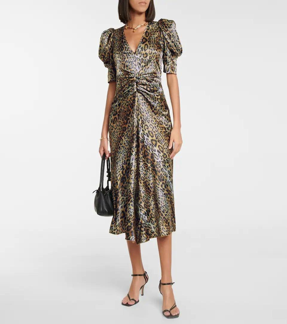 <p>If you're as obsessed with animal print as we are, you need this <span>Rotate Birger Christensen Sierina Leopard-print Midi Dress</span> ($270). We'd find any excuse to wear this out.</p>