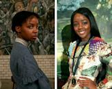 """<p>Newcomer Mbedu stars as Cora Randall, a young woman searching for freedom in the antebellum South. Whitehead recently <a href=""""https://www.townandcountrymag.com/leisure/arts-and-culture/a36108498/underground-railroad-series-amazon-barry-jenkins-colson-whitehead-interview/"""" rel=""""nofollow noopener"""" target=""""_blank"""" data-ylk=""""slk:told"""" class=""""link rapid-noclick-resp"""">told </a><em><a href=""""https://www.townandcountrymag.com/leisure/arts-and-culture/a36108498/underground-railroad-series-amazon-barry-jenkins-colson-whitehead-interview/"""" rel=""""nofollow noopener"""" target=""""_blank"""" data-ylk=""""slk:T&C"""" class=""""link rapid-noclick-resp"""">T&C</a> </em>that when he writes his books, he does not really envision what the characters would look like. """"The sad thing is I see everything except faces and bodies,"""" he said. """"It's startling to see Cora for the first time.""""</p>"""