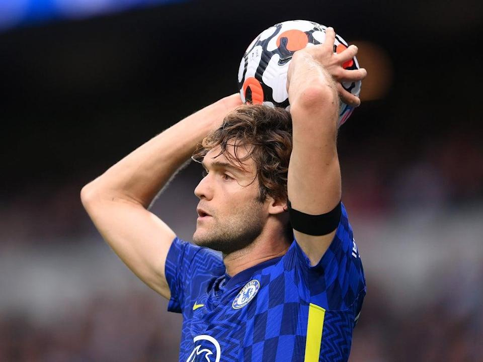 Marcos Alonso of Chelsea has decided to stop taking the knee (Getty)