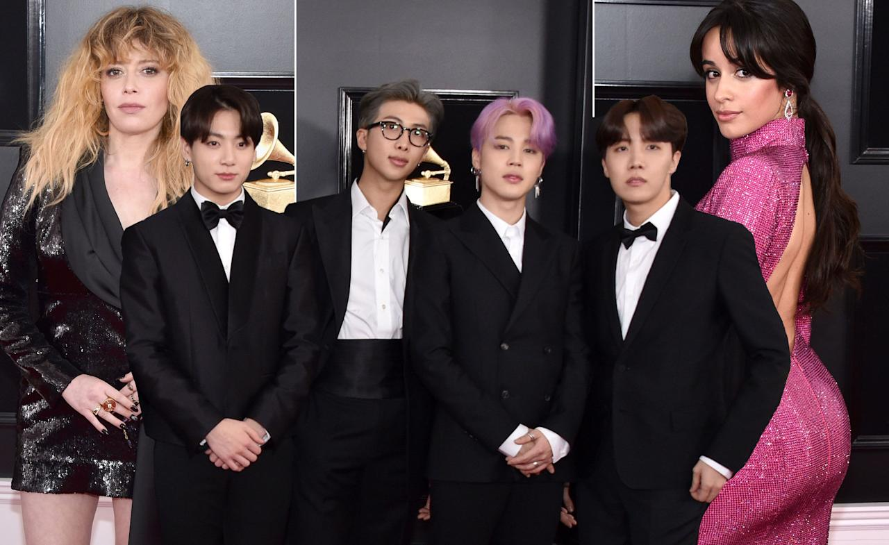 <p>All of the red carpet looks from the 61st Grammy Awards ceremony, held at The Staples Center in Los Angeles, California.</p>
