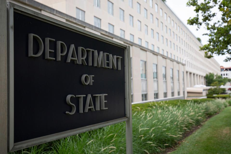 The US Department of State building - Credit: AFP via Getty Images