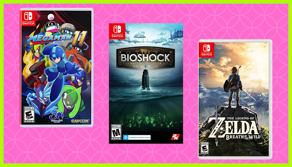 Get your game on—for a steal. Save up to 65 percent on Nintendo Switch games. (Photo: Amazon)