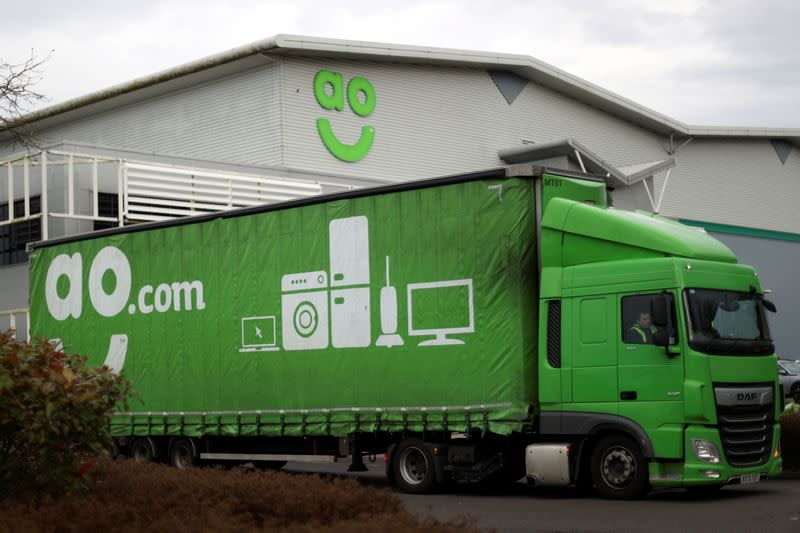 AO distribution centre in Crewe