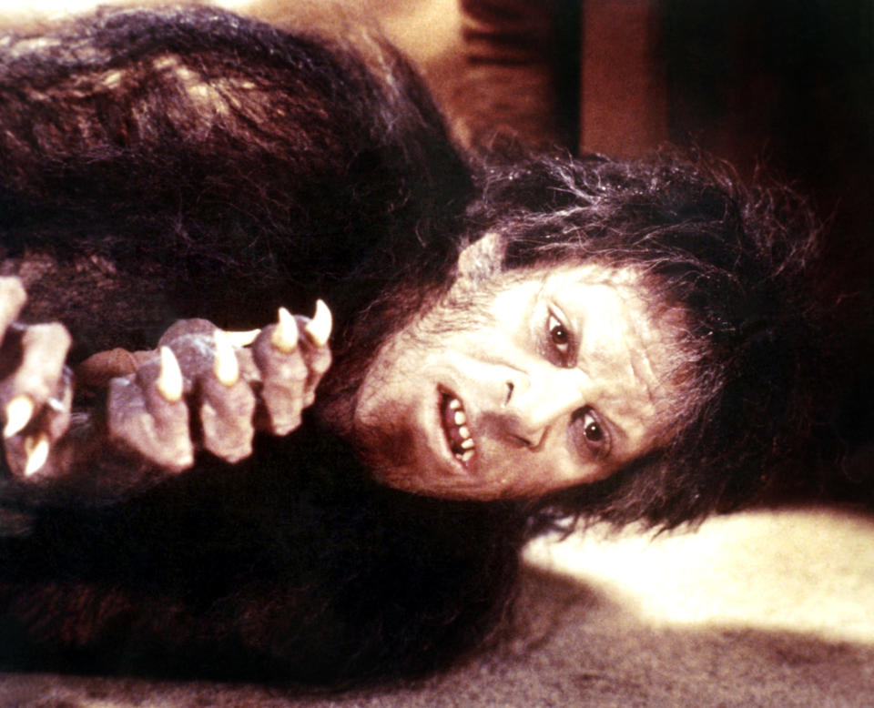 David Naughton takes his wolf form in <em>An American Werewolf in London</em>. (Photo: Universal/Courtesy Everett Collection)
