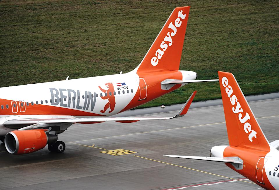 This winter, EasyJet is flying at just 20% capacity due to COVID-19-related travel restrictions. Photo: Kay Nietfeld/Pool via Reuters
