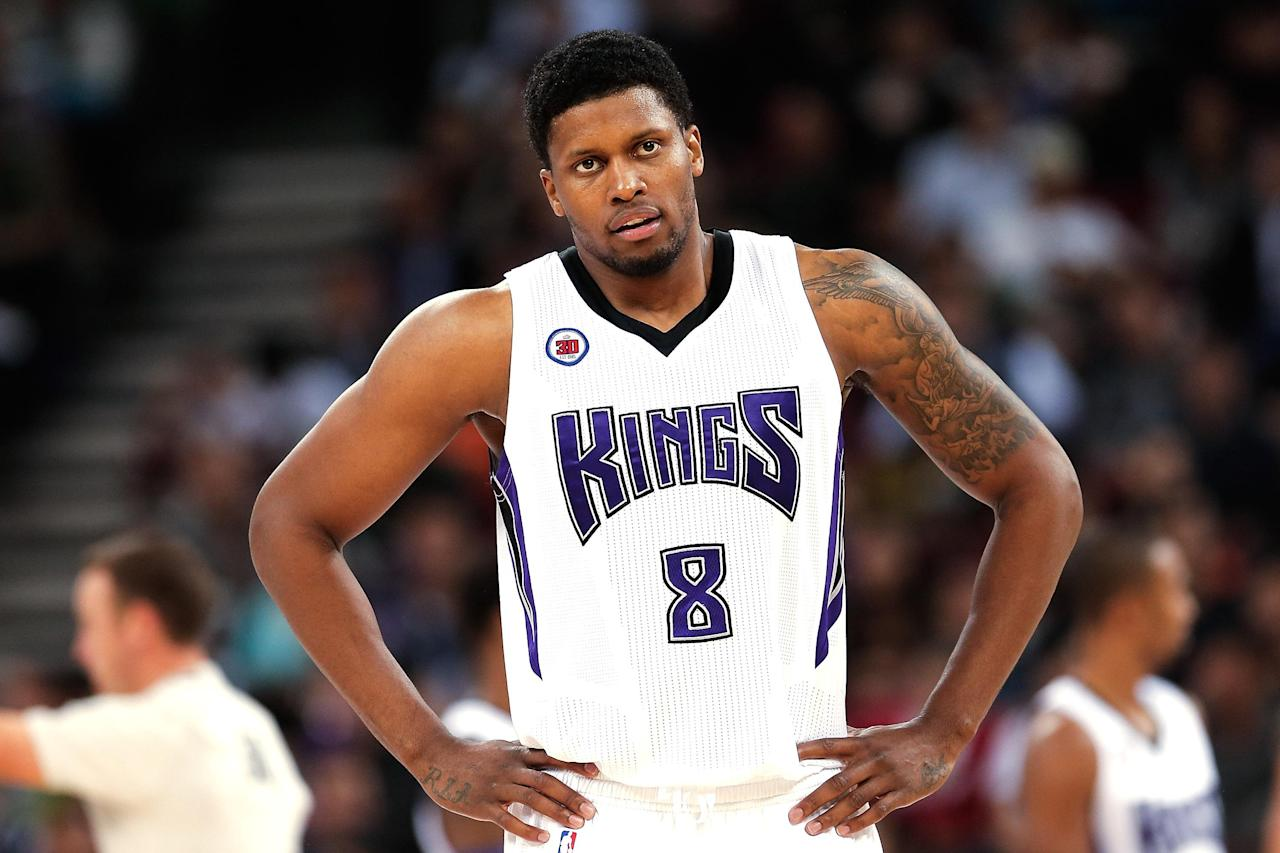 Rudy Gay takes hard hit to jaw; CT scan negative