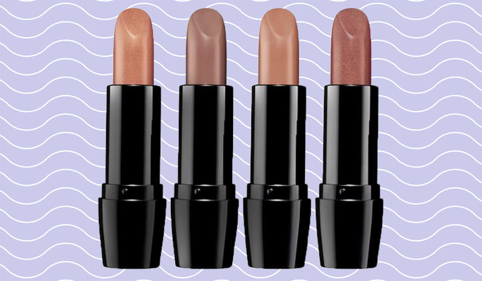 Gee, your lips look terrific! Four incredibly flattering creamy neutrals at 50 percent off. (Photo: HSN)