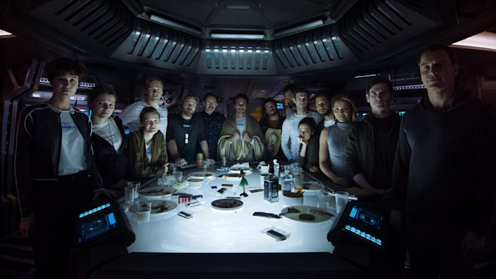 """Directed by Ridley Scott • Written by Dante Harper and John Logan<br /><br />Starring Katherine Waterston, Michael Fassbender, Billy Crudup, Carmen Ejogo, Danny McBride andDemián Bichir<br /><br /><strong>What to expect:</strong>The 2012 prequel """"Prometheus"""" marked Ridley Scott's return to the """"Alien"""" franchise, 33 years after he made the near-perfect original. """"Alien: Covenant"""" picks up 10 years after the events of """"Prometheus,"""" with a colony ship headed to a remote planet where a life-threatening loneinhabitant is found.<br /><br /><i><a href=""""https://www.youtube.com/watch?v=svnAD0TApb8"""" target=""""_blank"""">Watch the trailer</a>.</i>"""
