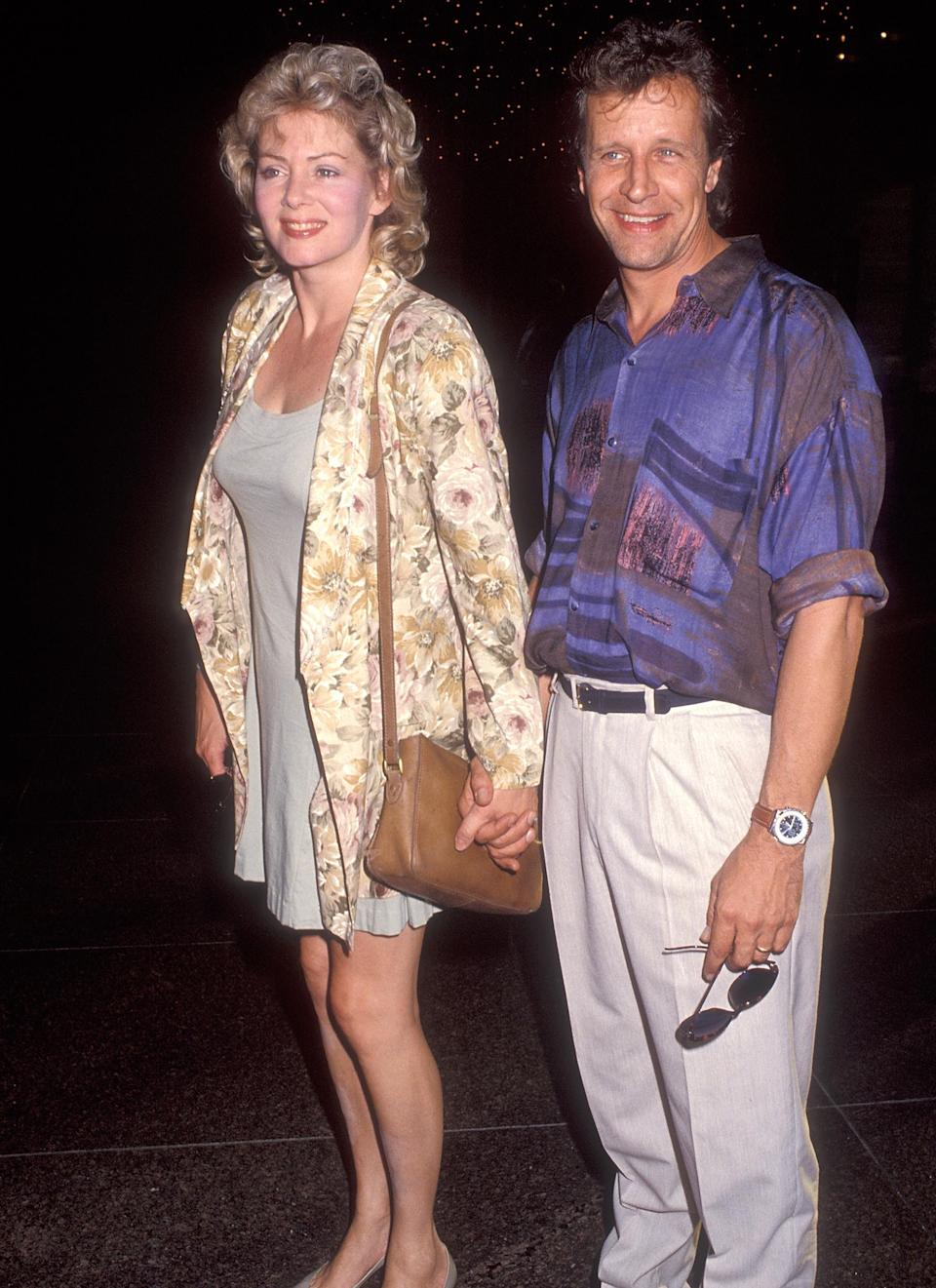 Actress Jean Smart and husband actor Richard Gilliland attend the