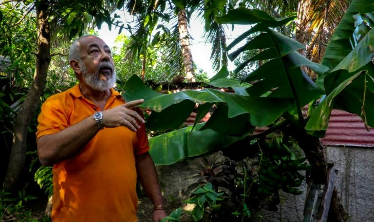 Cuban writer Leonardo Padura says there is only one place where he can write: his home neighborhood of Mantilla, where he tends the banana and lemon trees in his garden