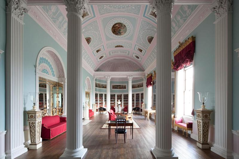 Library chic: Kenwood has been showing off its treasures for hundreds of years: English Heritage